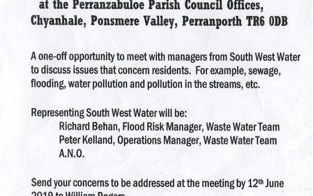 South West Water meeting