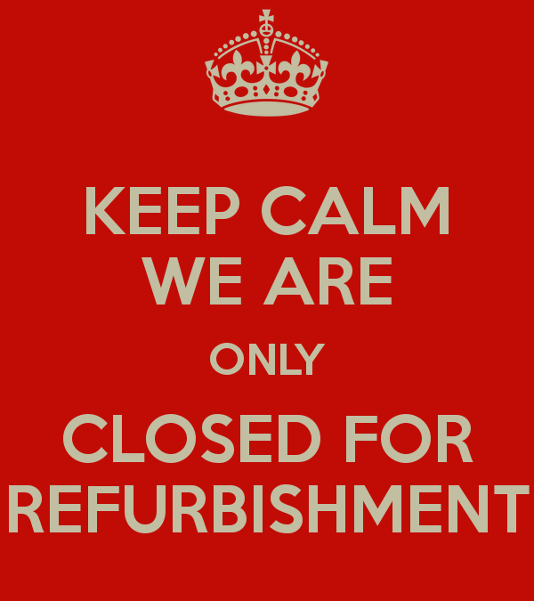Perranporth Library – closed for refurb