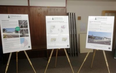 Residents check out plans for Community Hub