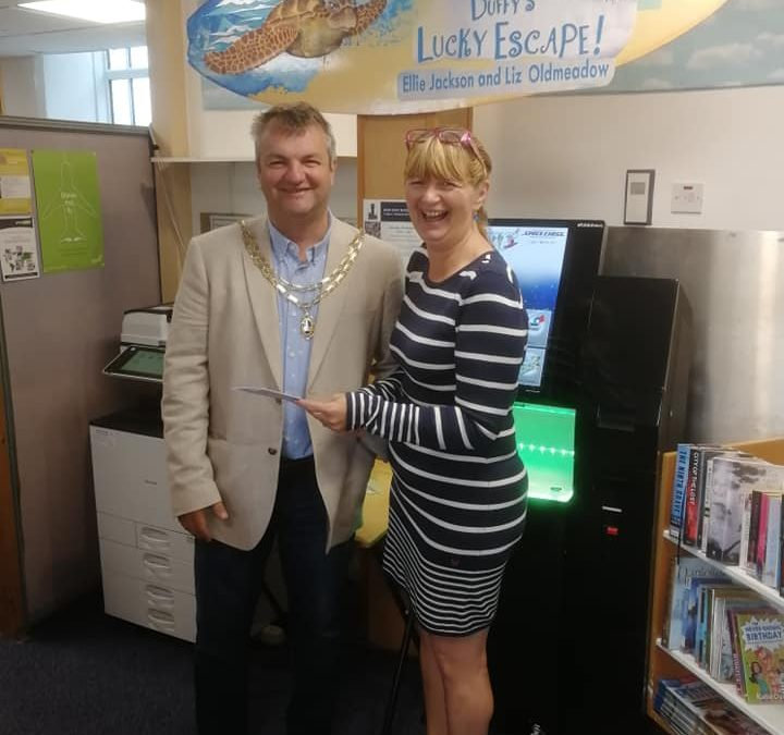 Perranporth Library – Under New Management!
