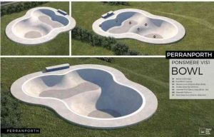 Proposed Skate park bowl street skating facility