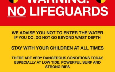 Stay out of the water this weekend!
