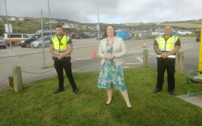 Police support for community