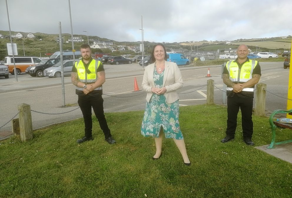 Street marshals with PCC