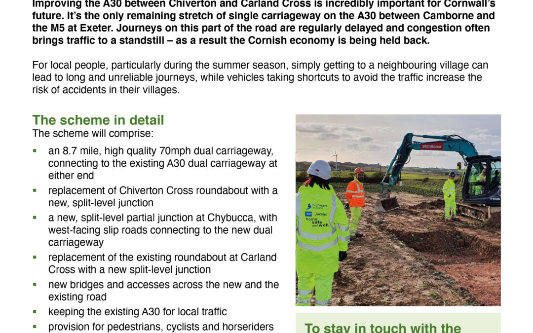 A30 Improvement Works