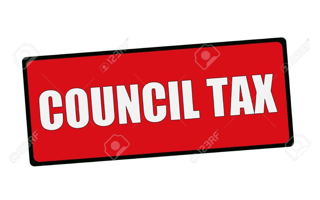 Council Tax sign